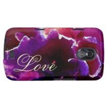 Love Phone Case Magenta Pink Tropical Coral casemate cases by FaithfulWords