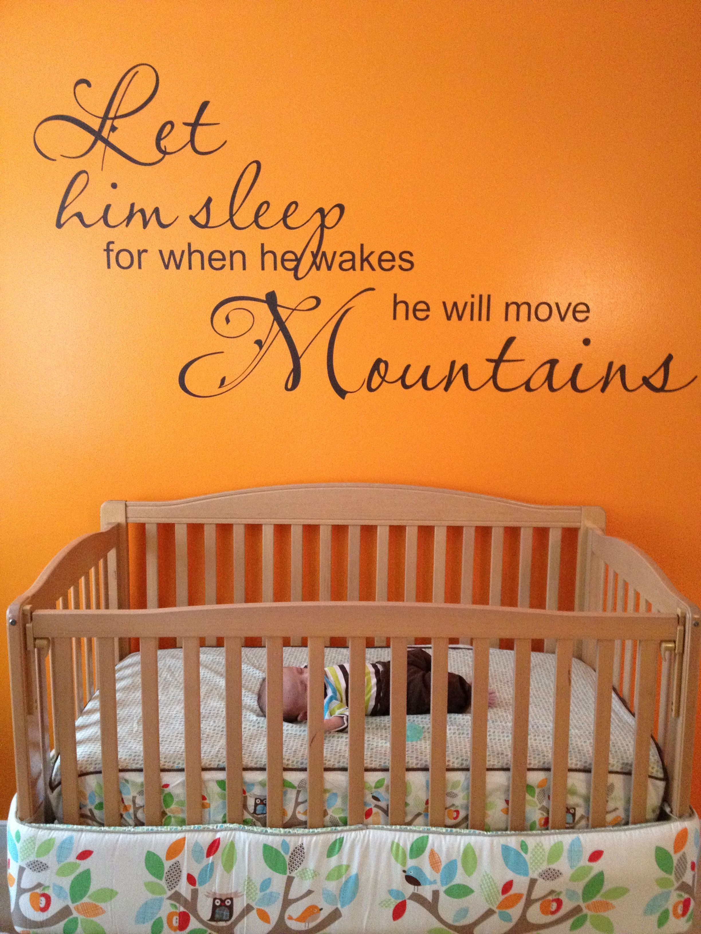 This Is My Sons Nursery Had The Quote Custom Made