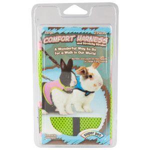 Super Pet Comfort Harness Leash for Rabbits - PetSmart | Pet ...