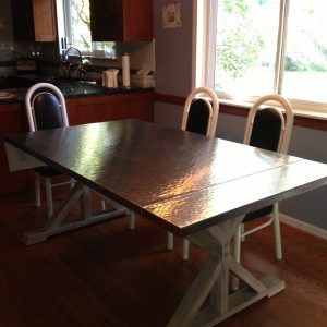 Stainless Steel Dining Room Tables Hammered Stainless Steel Dining Room Table  Httpbehoovenpress