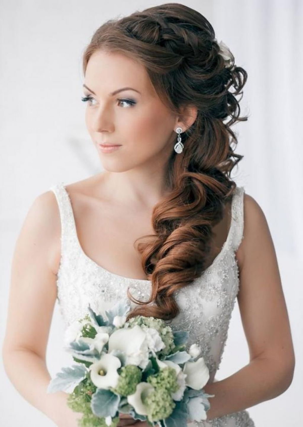 simple wedding wedding dresses and hairstyles