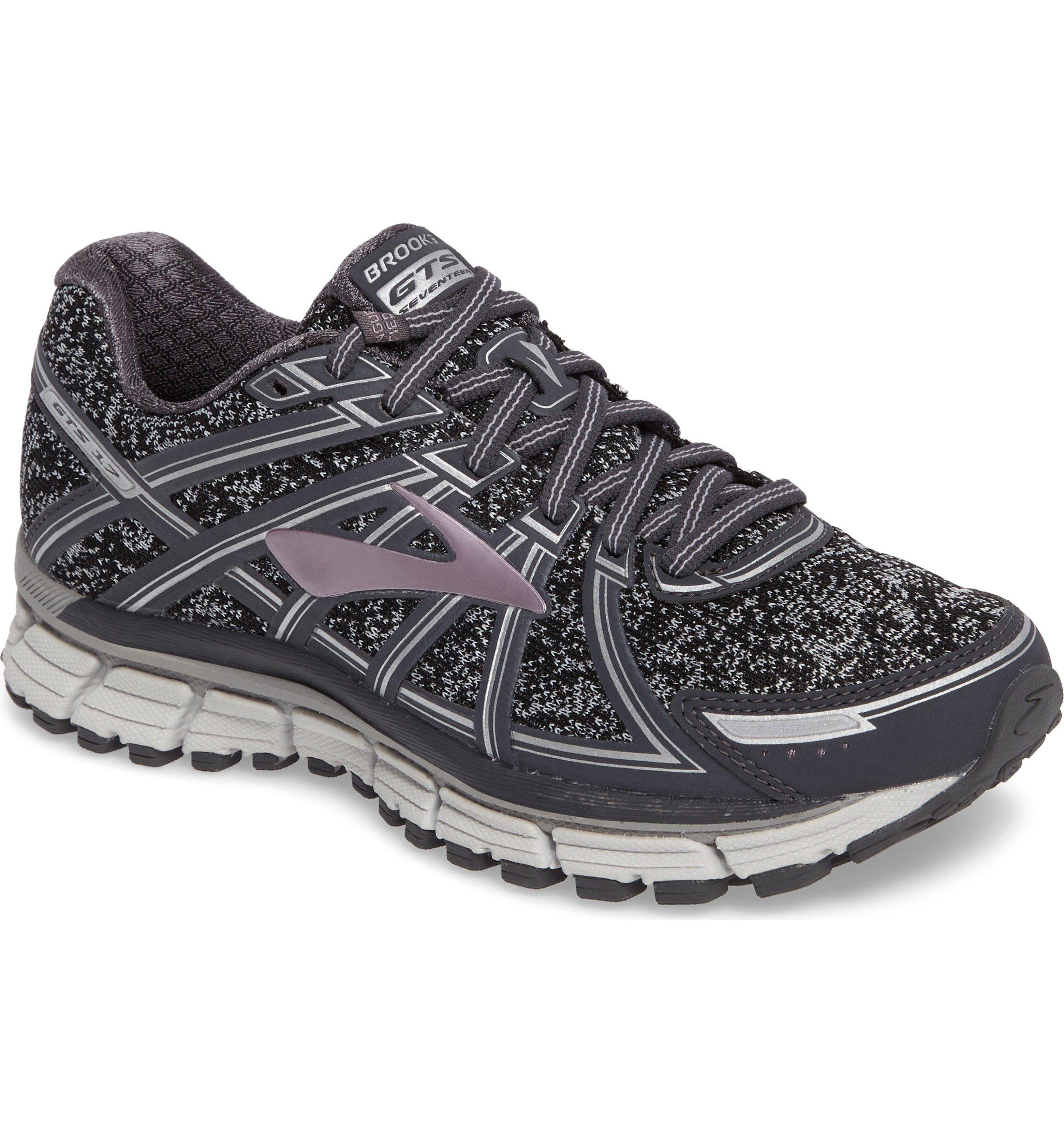 Main Image Brooks Adrenaline Gts 17 Running Shoe Women Best Running Sneakers Womens Running Shoes Brooks Running Shoes Women