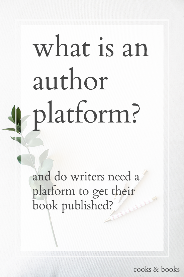 Pin On Cooks Books A Literary Agent Blog On Author Platforms Writing And Publishing