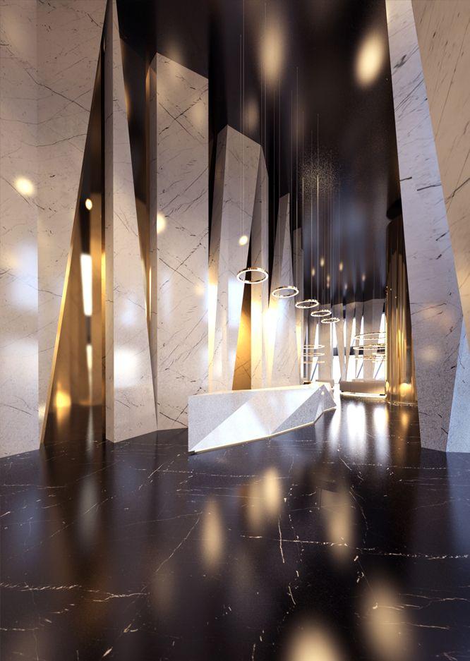 Concept holl interior on behance pinteres for Kimberly hall creative interior design