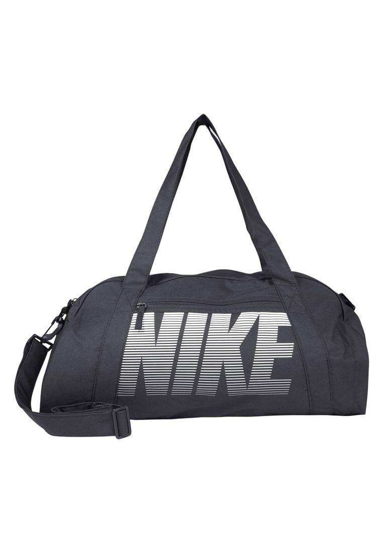 5ad0b3111f9 Nike Performance GYM CLUB - Sporttas - black/black/white - Zalando.nl