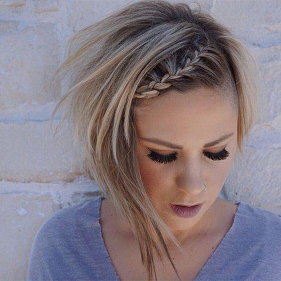 Gallery The Prettiest Braids For Short Hair On Instagram