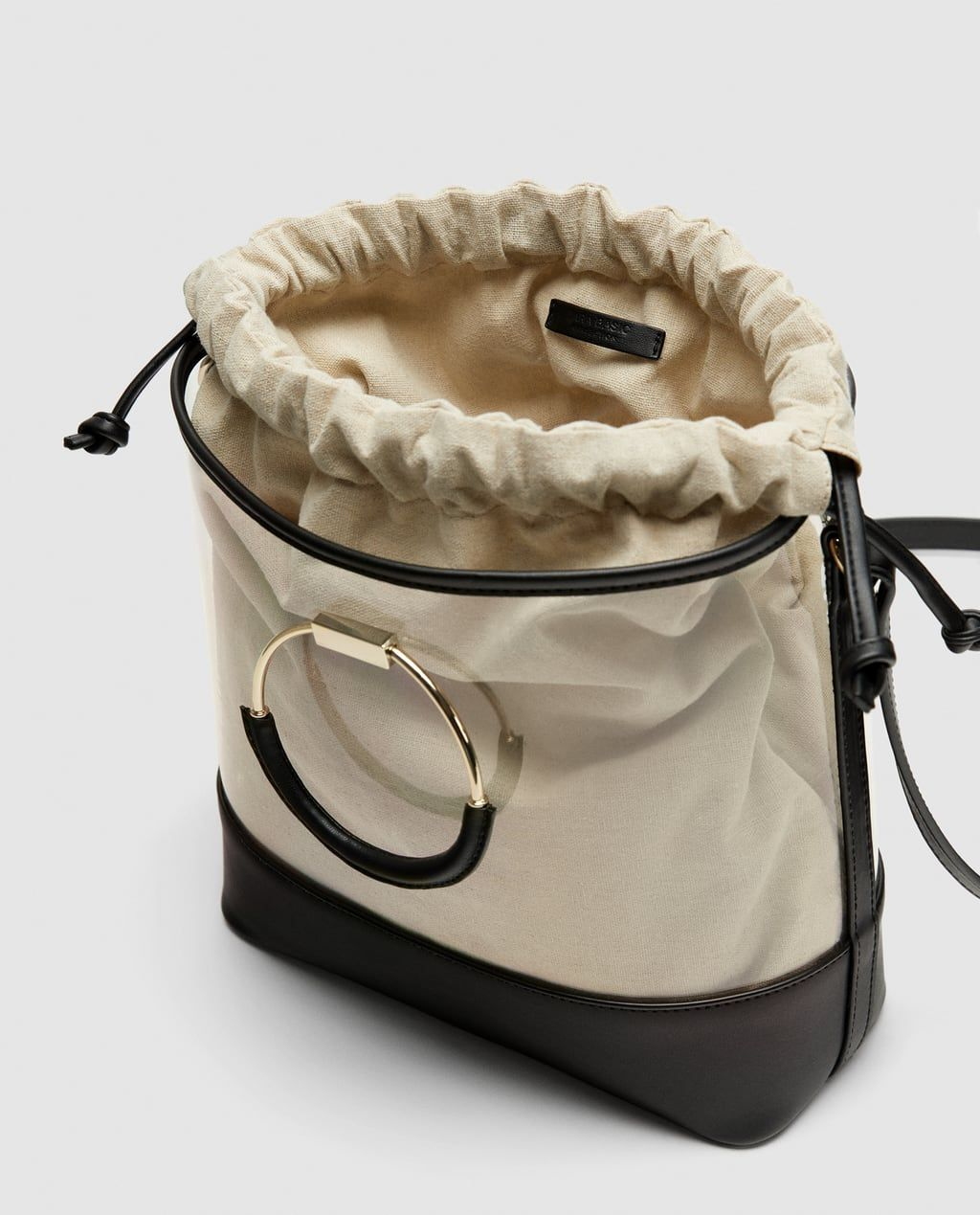 97a25a9073e0 VINYL TOTE WITH INTERIOR BAG-View all-BAGS-WOMAN