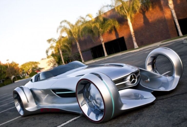 Mercedes Silver Lighting This Is A Real Picture Futuristic Cars Concept Cars Super Cars