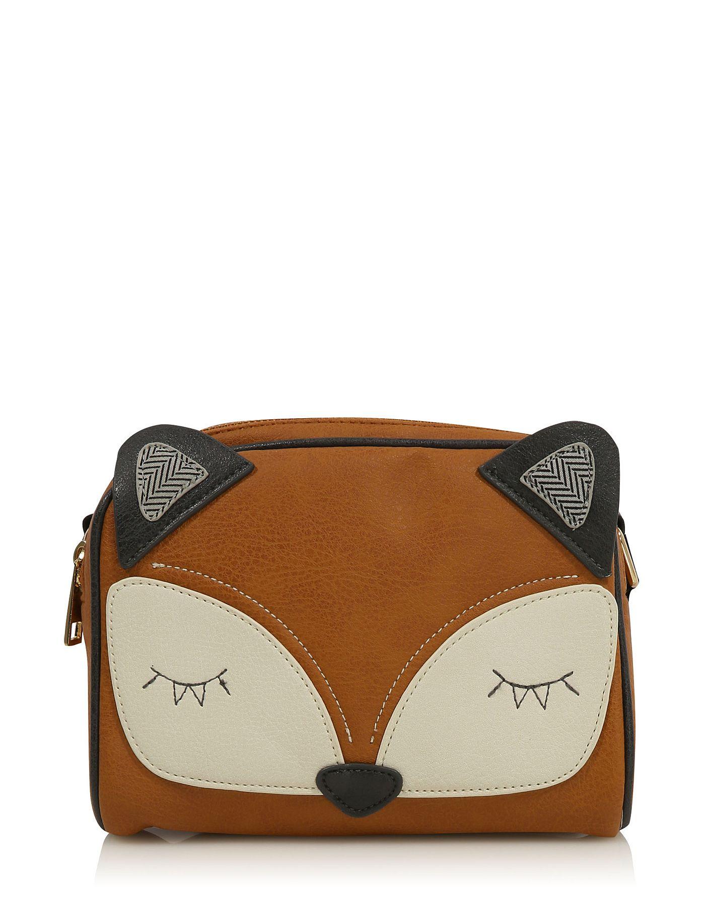 Cross Body Fox Bag Women George At Asda