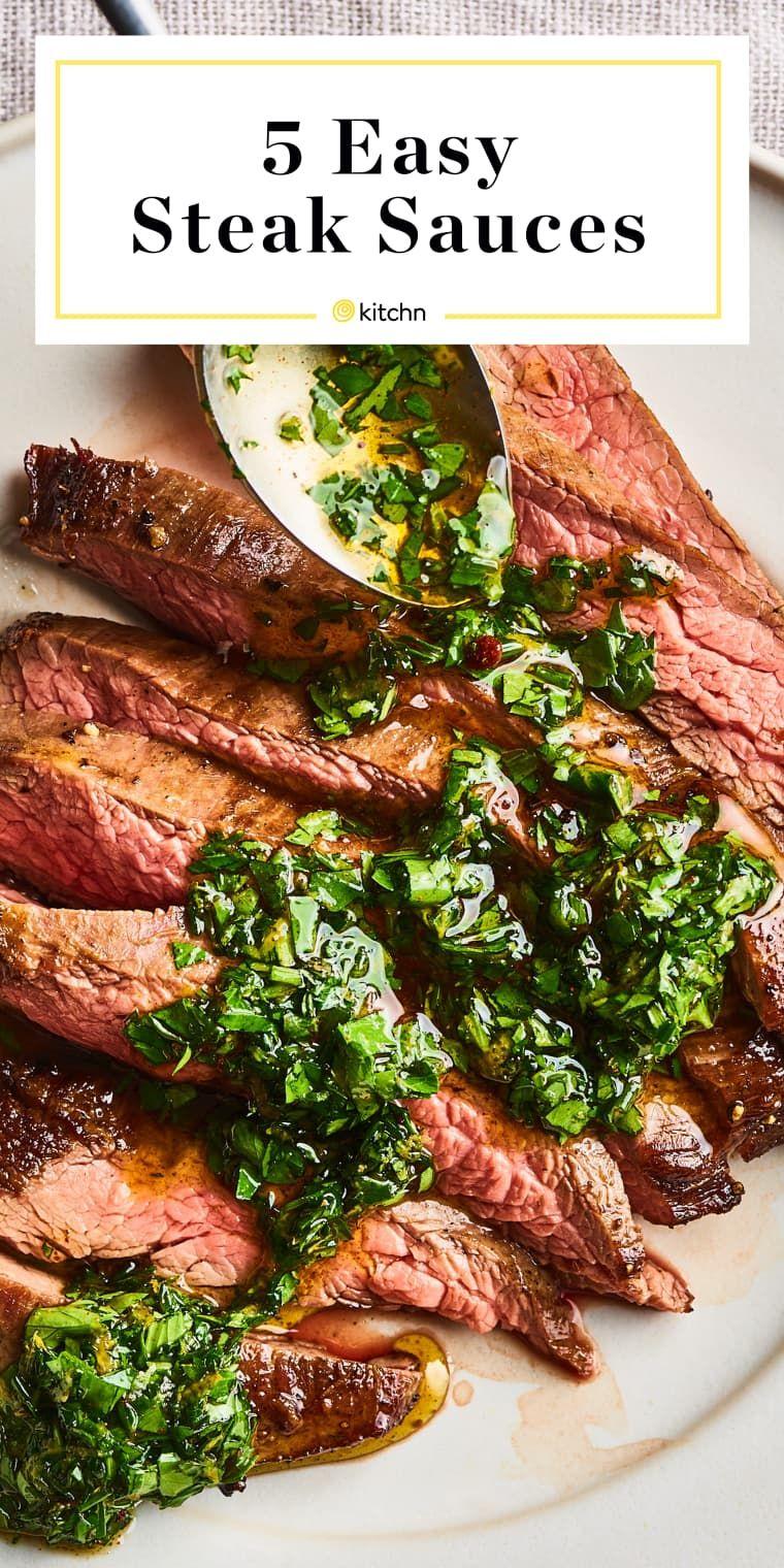 5 Easy 3 Ingredient Steak Sauces Steak Sauce Steak Sauce Recipes Steak Sauce Easy