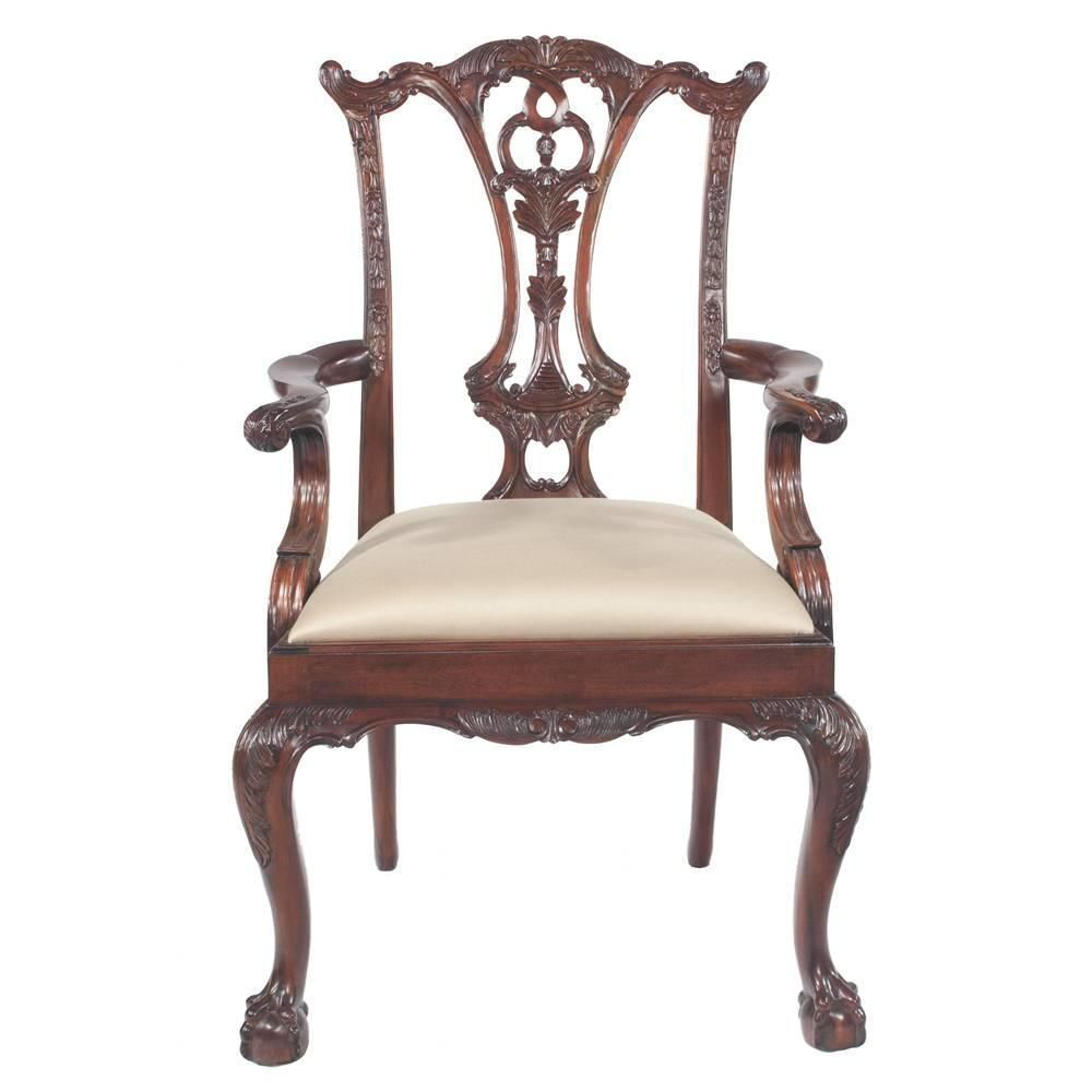 Chippendale Mahogany Dining Chairs S 10 Dining Dining Chairs  # Muebles Ebenezer