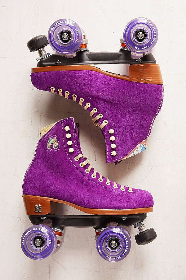 Moxi UO Exclusive Suede Roller Skates in 2020 Retro
