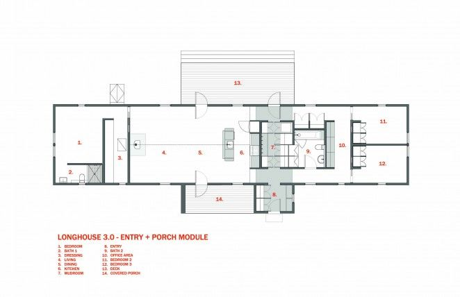 Longhouse 3 0 Entry Porch Schematic House With Porch Floor Plans How To Plan