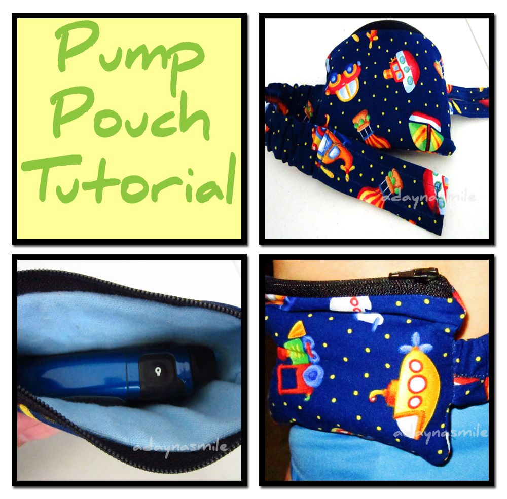 Insulin Goes Viral: Pump-pouch-tutorial More