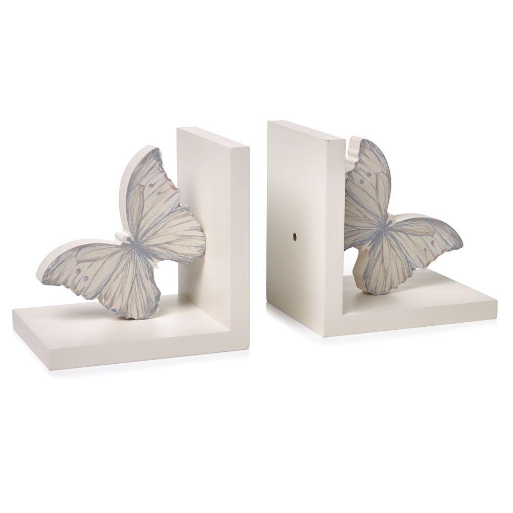 Wilko Butterfly Bookends At Wilko.com