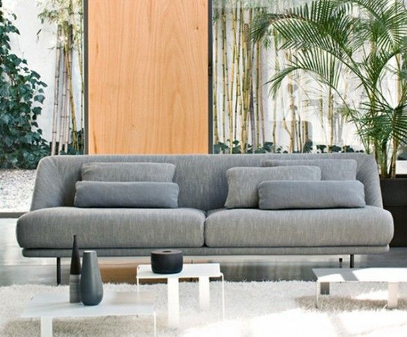 without armrest sofa - Google Search sofa Pinterest - design sofa moderne sitzmobel italien