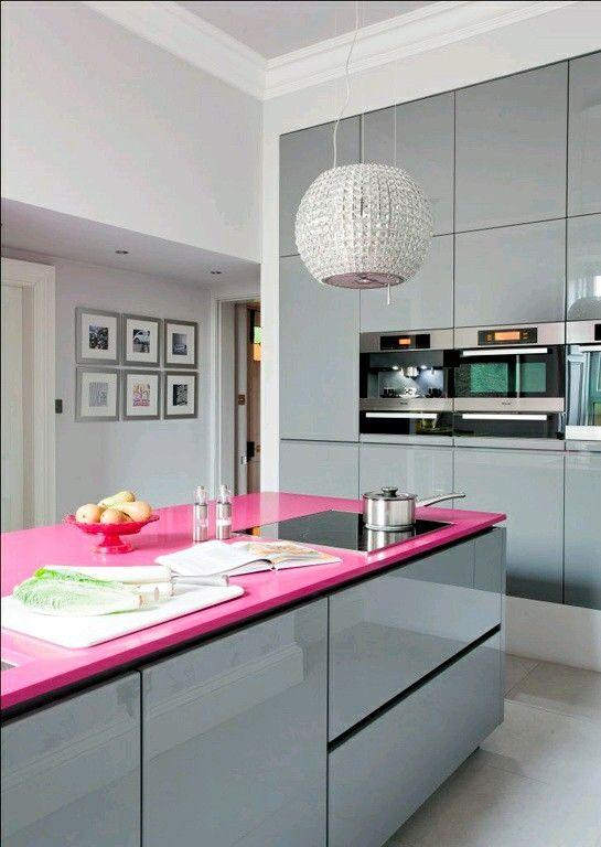 Cocinas integrales de colores (2 Cocinas integrales, Integral y De - Imagenes De Cocinas