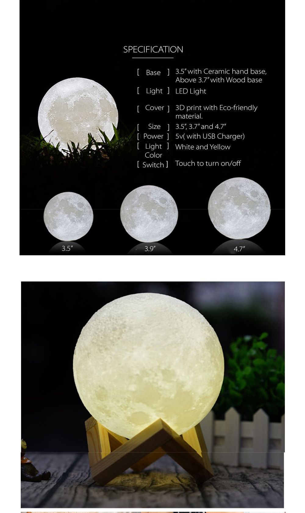 Moon Light Romantic Moonlight Moonlight Light Apollo Box