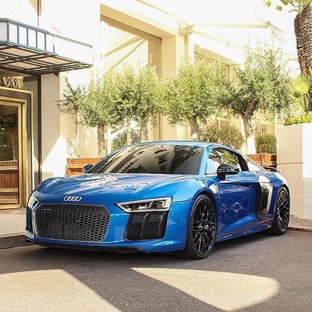 Audi R8💙 Photographer: @jdf.photo