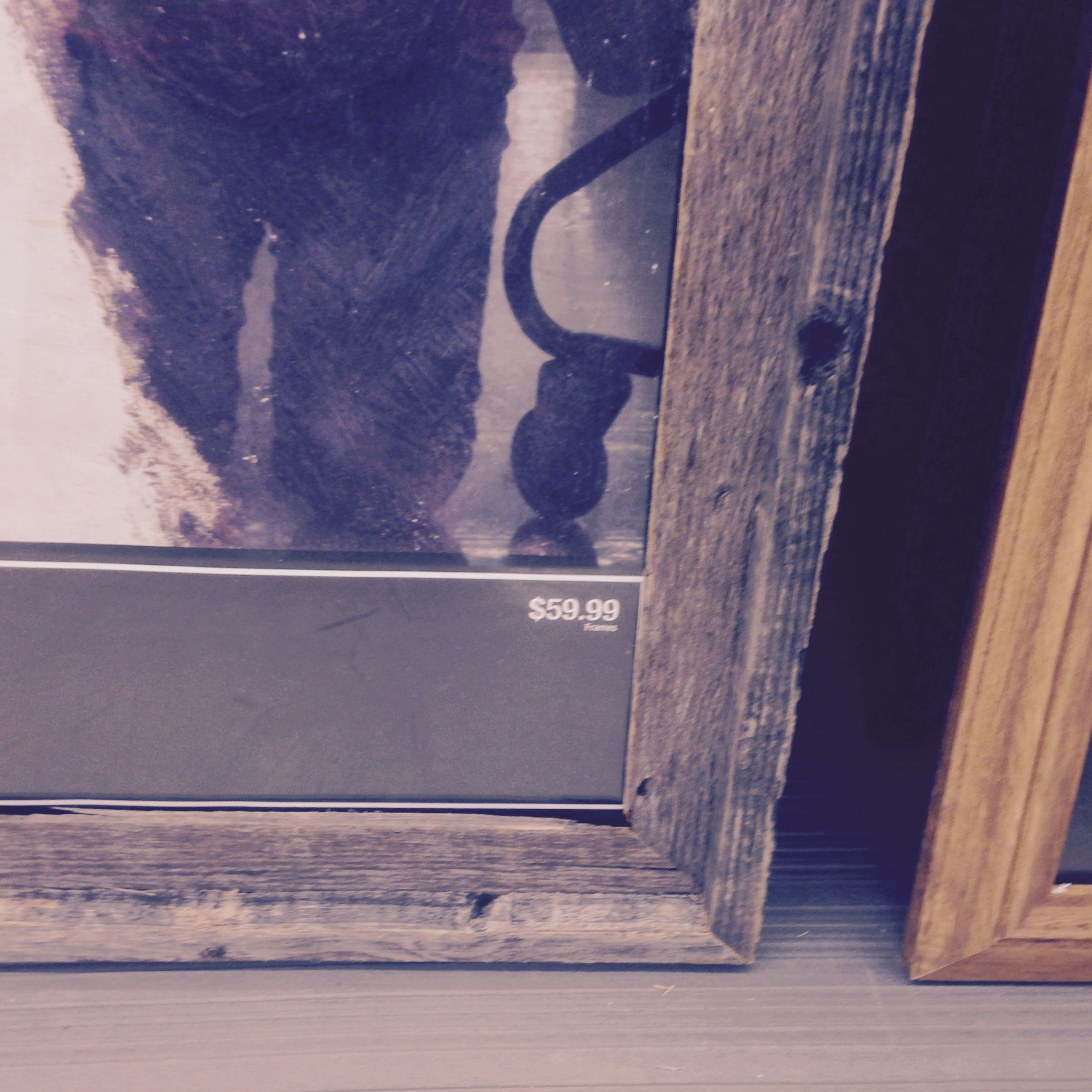 Love This Frame Size 24x36, Comes In Two Smaller Sizes @ Hobby Lobby. Would