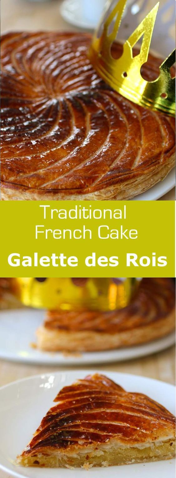 Pithivier is a traditional galette des rois (King Cake) from the ...