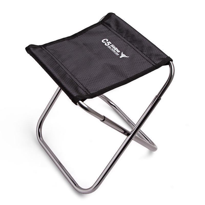 Folding Stool Chair Portable Aluminum Fishing Picnic Camping