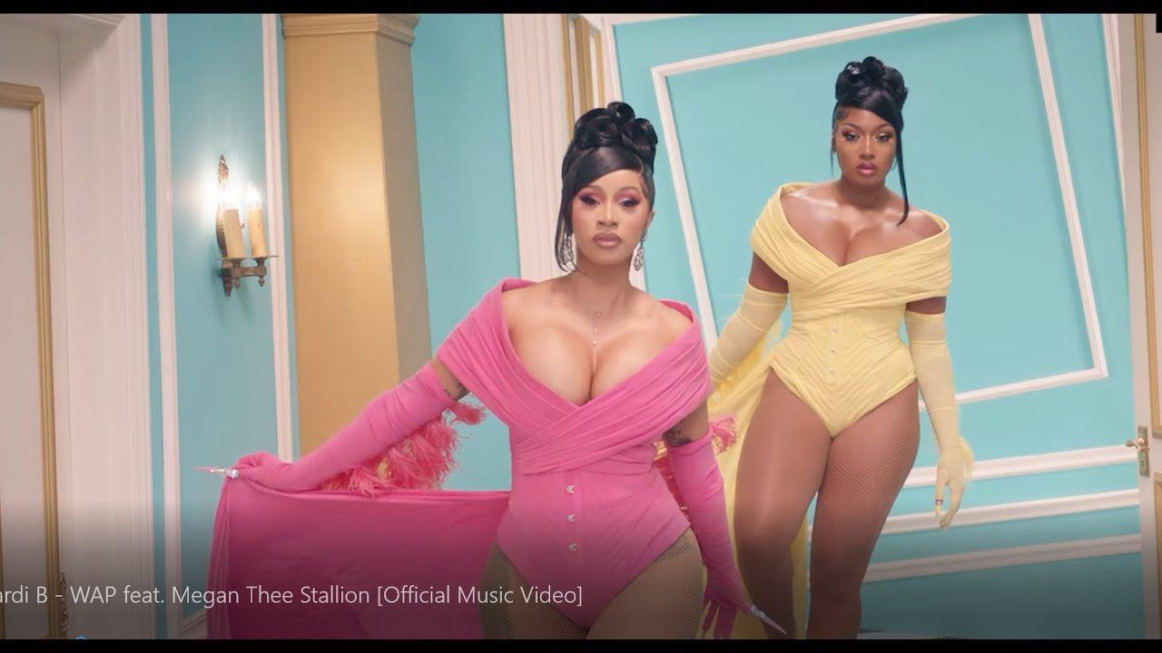 Cardi B Wap Feat Megan Thee Stallion Official Music Music Official In 2020 Hindi Movies Cardi B Cardi