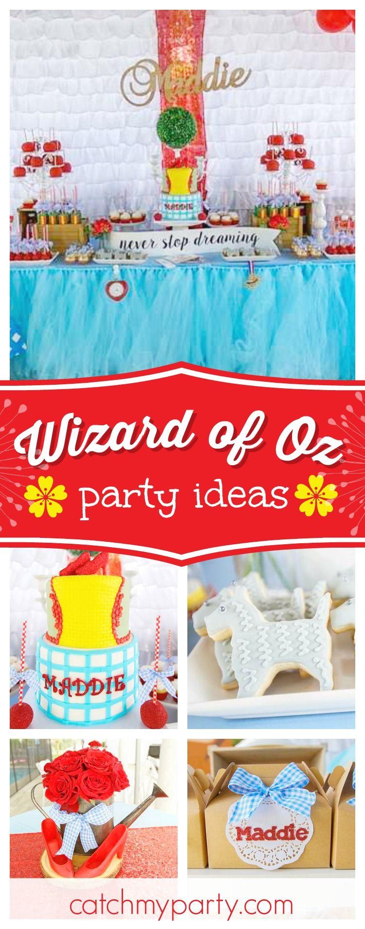 "Wizard of Oz / Birthday ""Maddie's 5th Birthday Party"