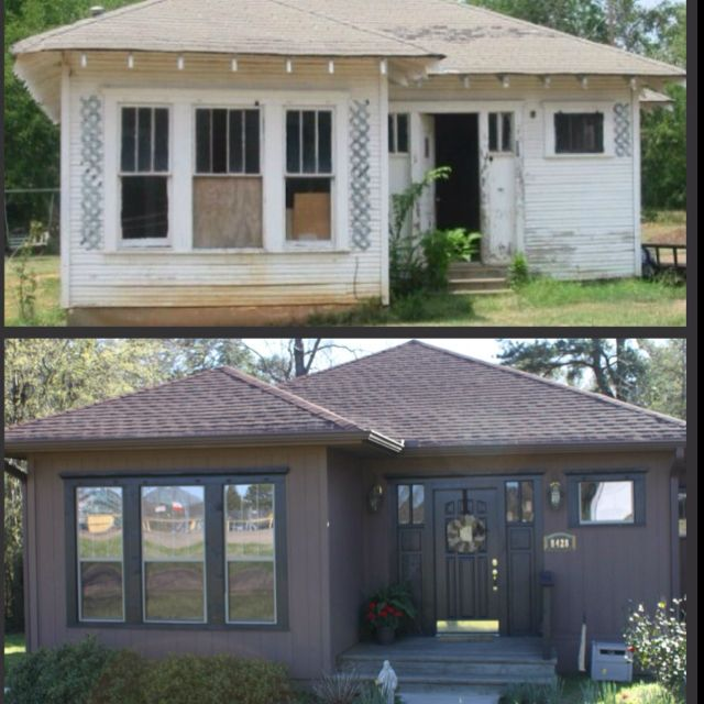 Never Forget Where You Came From. Our House Before And