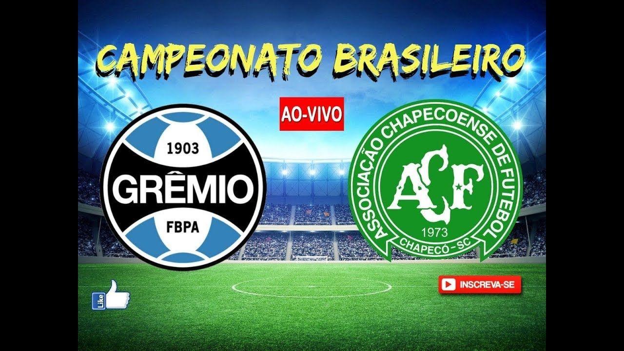 Gremio 3 X 3 Chapecoense Campeonato Braisleiro Direto Da Arena
