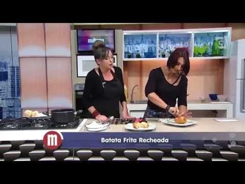 Batatas fritas recheadas — Receitas