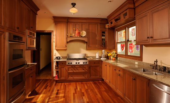 Chicago bungalow kitchen cabinets are a little too fussy for Kitchen cabinets chicago