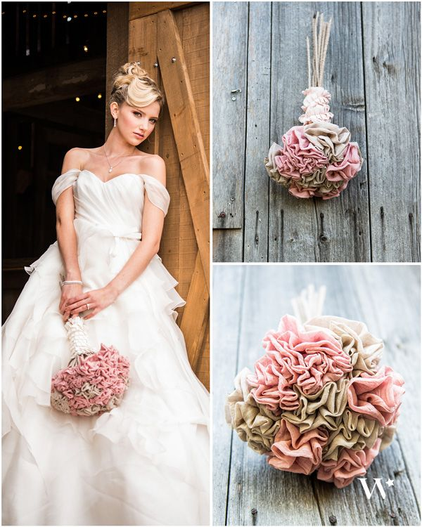 Wedding Trend Report: Fabric Flowers - The Details - Weddingstar ...