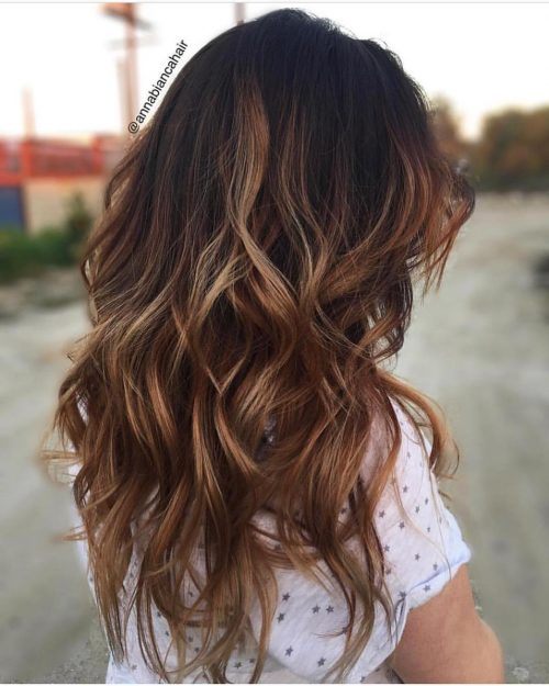 42 Stunning Brown Hair with Highlights for 2020