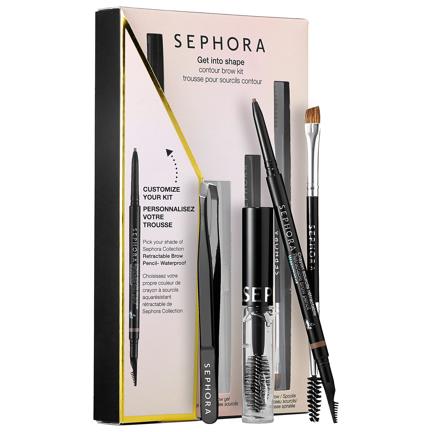 Sephora Collections Get Into Shape Contour Custom Brow Kit Is A