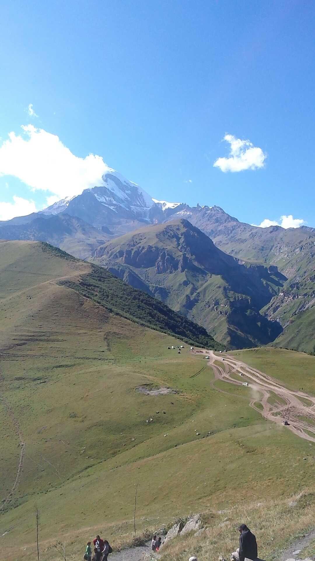 Caucasian Mountains near Border