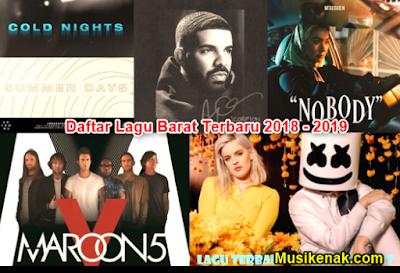 200 Daftar Lagu Barat Terbaru 2018 2019 Terpopuler Saat