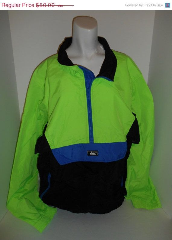 80s neon jacket for sale