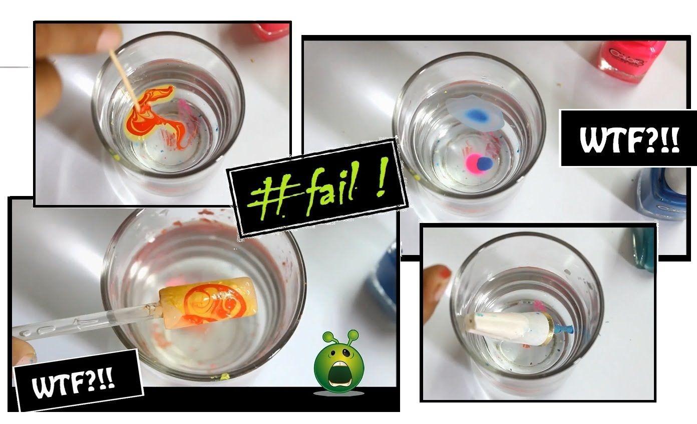 FUNNY: Marble Nail Art FAIL ! (Worst Nail Designs & Bloopers ...