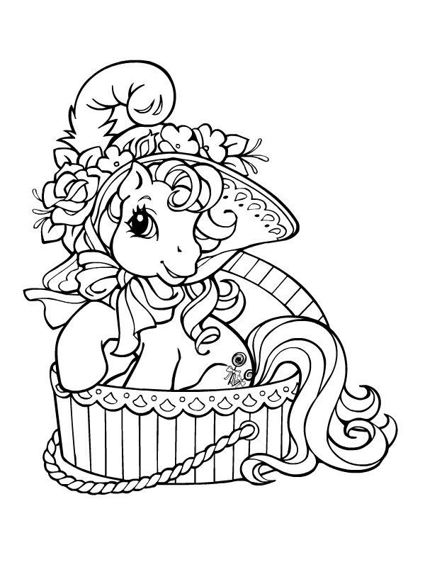 Petit poney sortant de son bain | My Little Pony | Pinterest ...