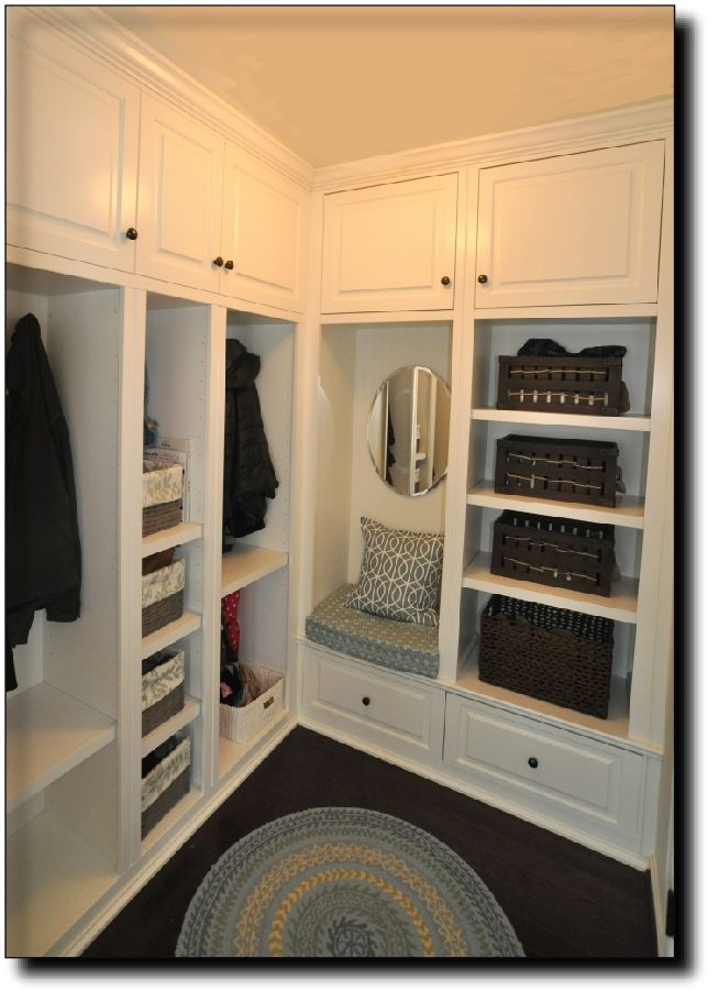Enclosed Mudroom Storage Locker Lockers Modular Furniture