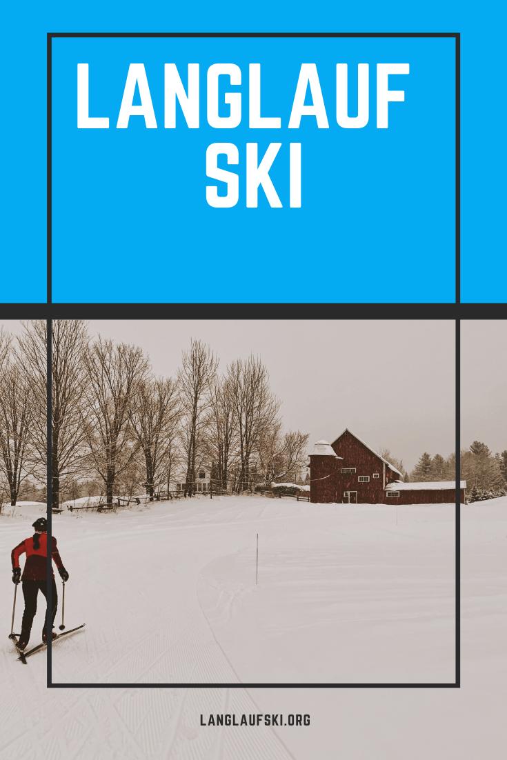 Langlauf Ski Langlauf Langlaufski Skilanglauf