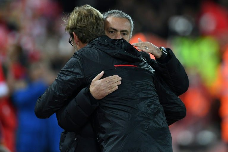 Manchester United look to exploit Liverpool wobble   London (AFP)  Jose Mourinhos resurgent Manchester United will attempt to reel in arch rivals Liverpool when Jurgen Klopps faltering side visit Old Trafford in Sundays Premier League headline clash.  United have won their last nine games in all competitions  their best run since an 11-match winning streak in early 2009  while Liverpool are still to win a game in 2017.  Mourinhos men needed an ultra-defensive performance to secure a 0-0 draw at Anfield when the teams last met in October but three months onhis team are now firing on all cylinders.  Because the results are better that changes a lot of things the United manager said.  You know at that time I had less time of working together with my players. Now I have a little bit more.  We know each other better we have a certain way of thinking football we have a certain way to play football.  We dont just have good performances we have also the happiness of the good results.  Uniteds trip to Anfield fell during a troubling sequence that saw them win just twice in 11 league outings.  But although they have sat in sixth place for over two months they are now just three points off a Champions League place and five points below second-place Liverpool.  A key factor in their revival has been the improved form of record signing Paul Pogba whohas seemed liberated since Michael Carrick was brought into the team to anchor the midfield.  The France midfielder has scored three goals and supplied three assists in his last 10 games and credits Mourinho with giving him the freedom to play his natural game.  He said You know how to play do what you want' Pogba told the BBC. He let me free on the pitch.  He told me just to enjoy myself. That is it. That is all I need to hear from the manager.   Coutinho comeback   Wayne Rooney would love to score the 250th goal he needs to surpass Bobby Charlton as Uniteds outright record scorer against Liverpool but having started the last two ga