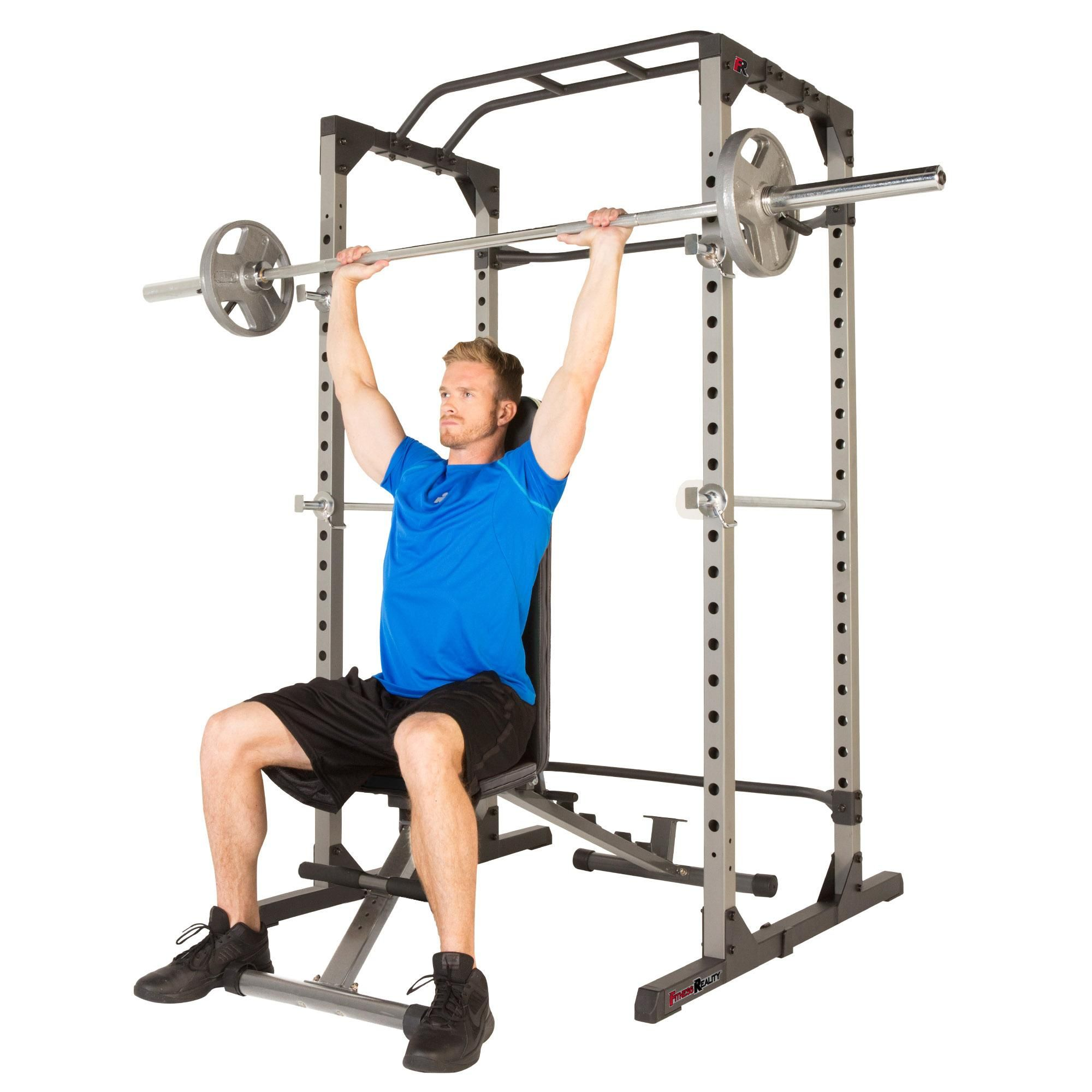 FITNESS REALITY 810XLT Super Max Power Cage with 800lbs