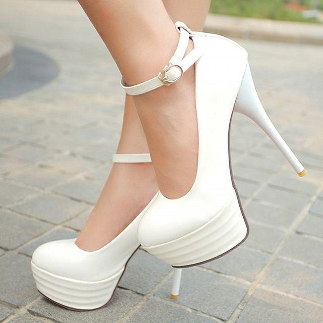 Zapatos De Meotina Altos Blancas Mujeres Las Tacones qttRpw1AE