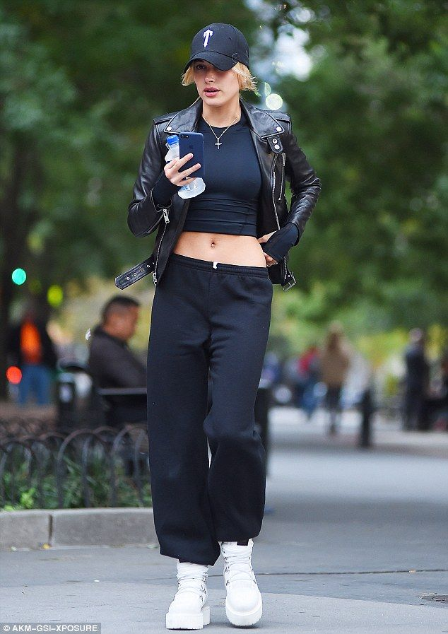 Hailey told PeopleStyle in August:'Sometimes I want to be a little dressed down, a little...
