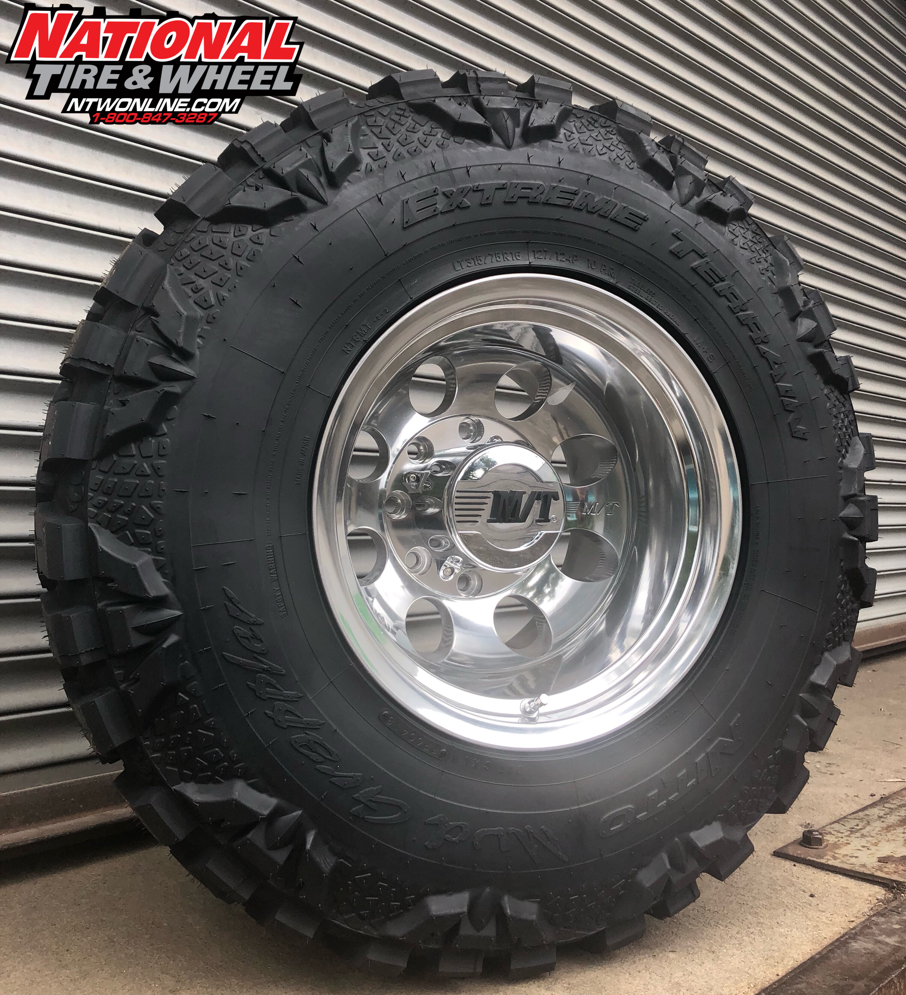 National Tire And Wheel >> 1 920 Shipped 16x12 Mickey Thompson Classic Iii Mounted Up To A