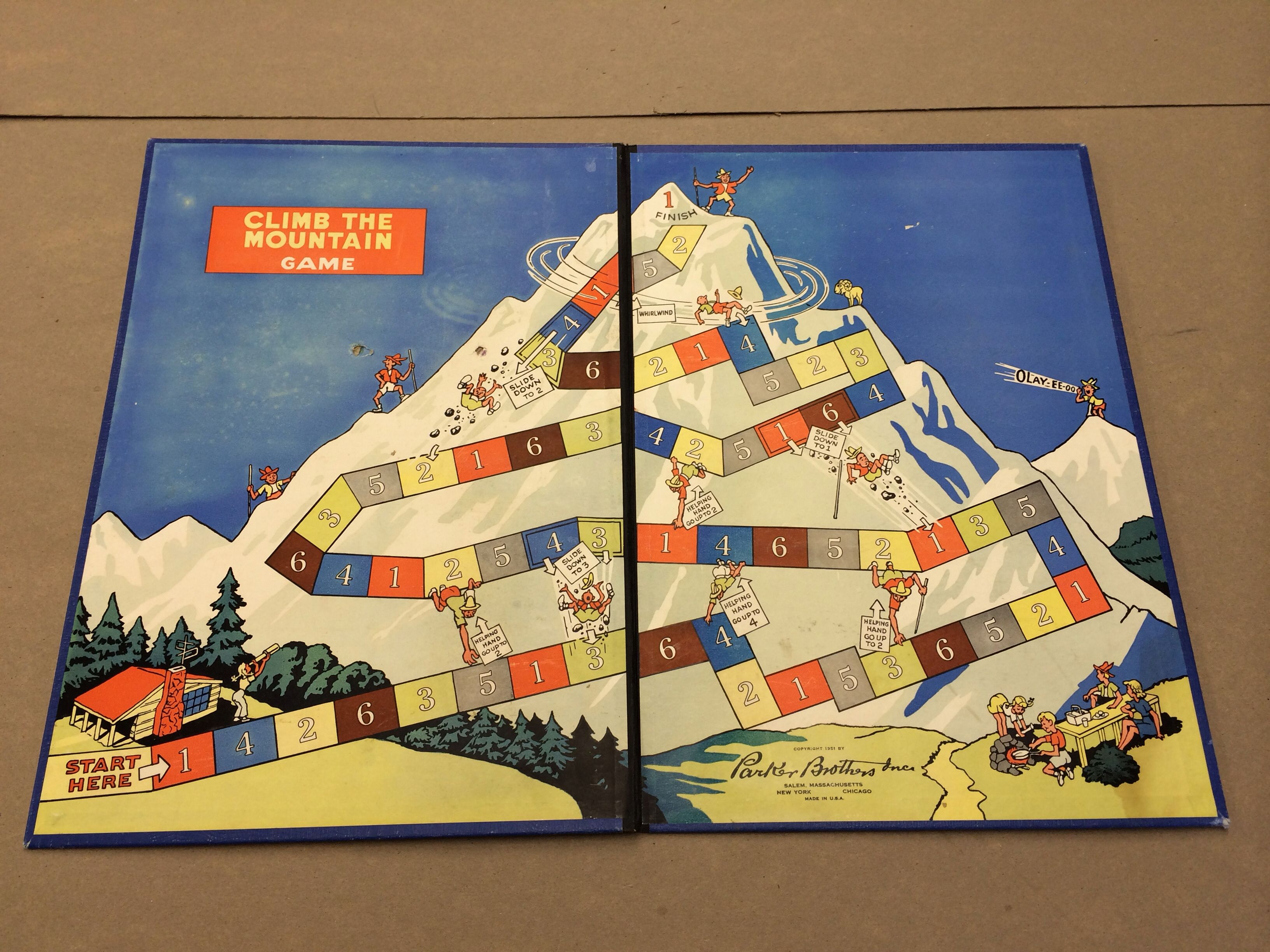 Vintage board games make great wall decor for a kids room or game ...