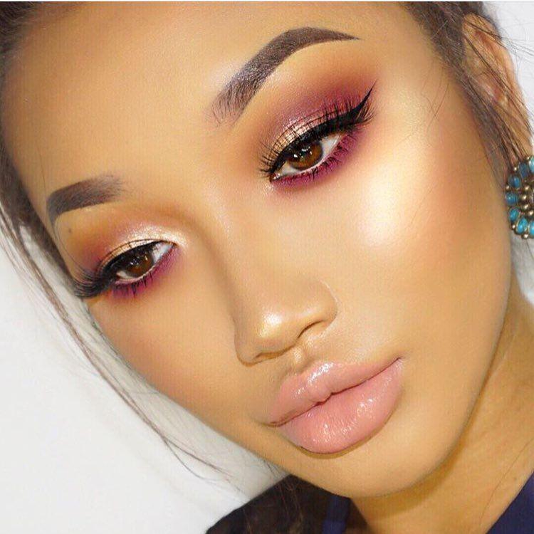 By @xthuyle  #makeup #makeuplover #makeupartist #makeupaddict #eyeliner #eyebrows #eyeshadow #eyemakeup #eyelashes #lip #lips #lipstick #lipgloss #fullfacemakeup #beauty #beautiful
