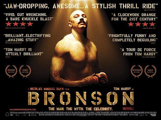 My Name S Charles Bronson And All My Life I Ve Wanted To Be Famous I Knew I Was Made For Better Things I Just Didn T Know Gangster Movies Bronson Tom Hardy